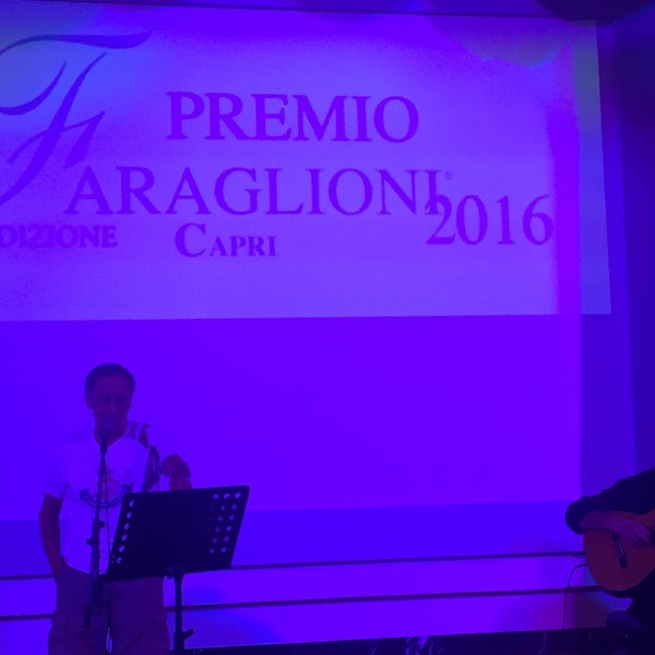 Photo taken at Quisisana Grand Hotel by davide n. on 8/30/2016