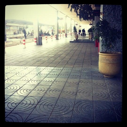 Photo taken at Gare de Mohammédia  محطة المحمدية by Maha A. on 2/24/2013
