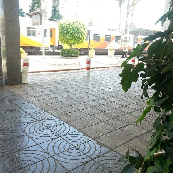 Photo taken at Gare de Mohammédia  محطة المحمدية by Maha A. on 6/8/2014
