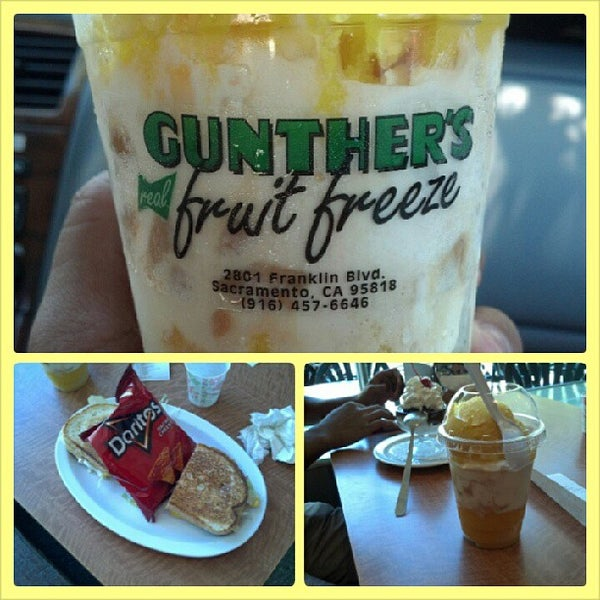Photo taken at Gunther's Quality Ice Cream by James A. on 8/22/2013