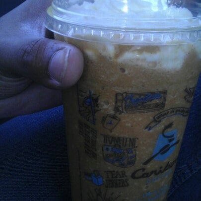 Photo taken at Caribou Coffee by Robert J. on 9/28/2012