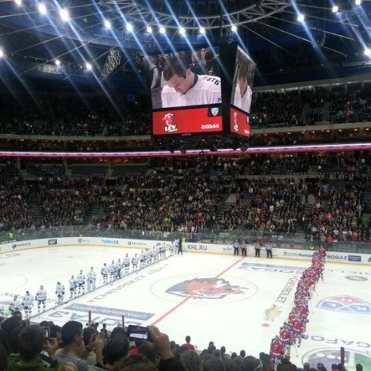 Photo taken at O2 arena by Jaffe Joffer K. on 10/9/2012