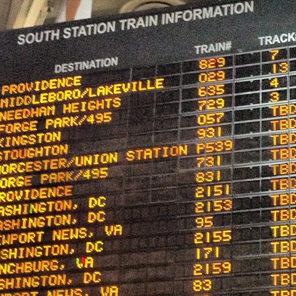 Photo taken at South Station Terminal (MBTA / Amtrak) by Dan on 5/23/2013