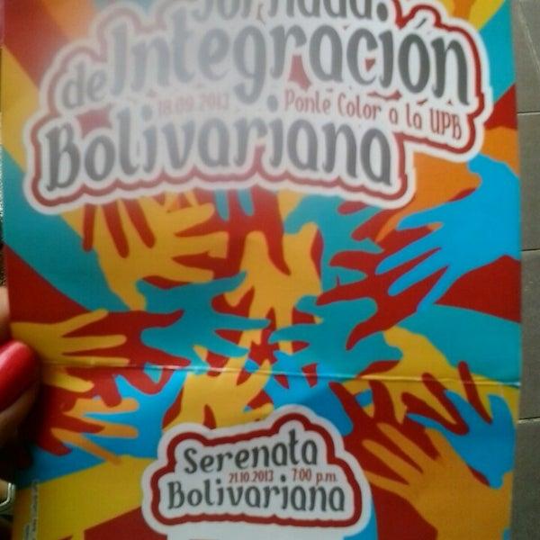 Photo taken at Universidad Pontificia Bolivariana - Seccional Bucaramanga by Carito R. on 9/18/2013