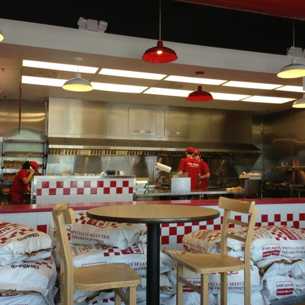 Photo taken at Five Guys by Dorrance C. on 8/19/2013