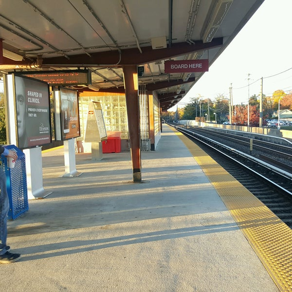 Photo taken at PATCO: Ashland Station by Carlos V. on 11/4/2016