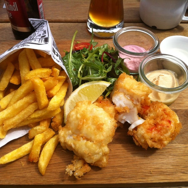 Kuche Fish And Chips: Zur Alten Flussbadeanstalt 5