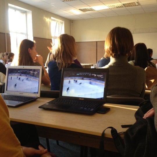 Photo taken at University of Latvia by Reinis on 10/17/2012