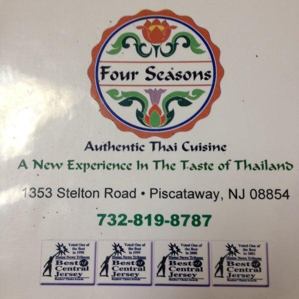 Photo taken at Four Seasons Thai by Alpesh P. on 8/30/2014