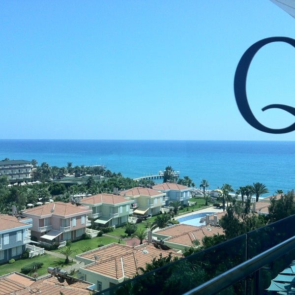 6/16/2013 tarihinde Ersinziyaretçi tarafından Q Premium Resort Hotel Alanya'de çekilen fotoğraf