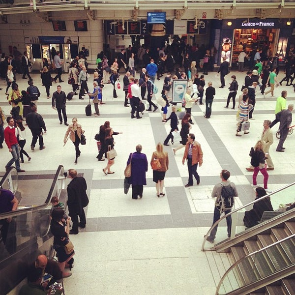 Photo taken at London Liverpool Street Railway Station (LST) by Keith T. on 6/27/2013