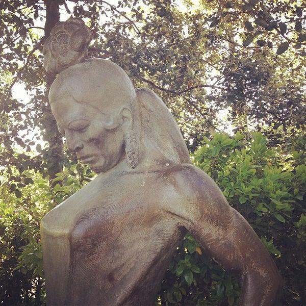 Photo prise au Jardins de Joan Brossa par Anya le5/3/2013
