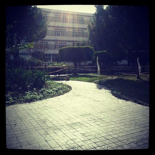 Photo taken at Holy Spirit University Of Kaslik by Dounia R. on 1/19/2013