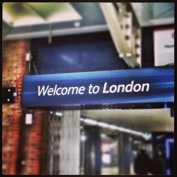 Photo taken at London Liverpool Street Railway Station (LST) by Miguel Angel B. on 2/2/2013