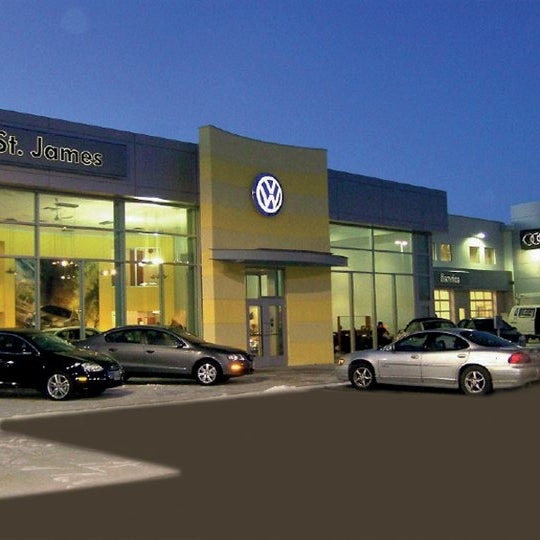 St James Volkswagen Auto Dealership In Winnipeg