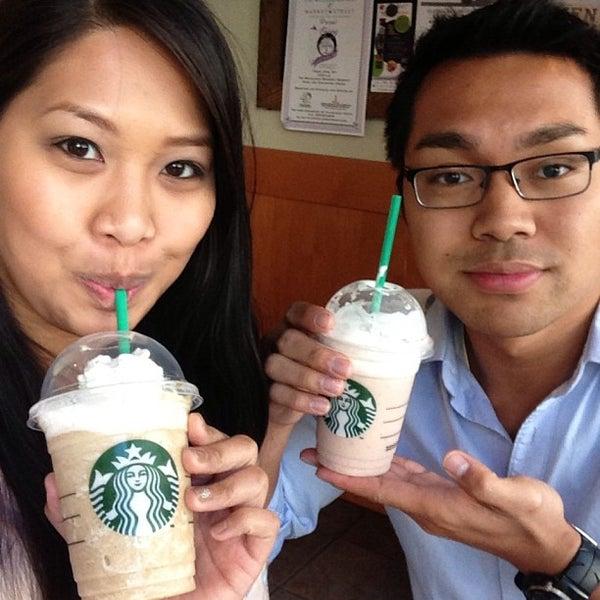 Photo taken at Starbucks by Heatherly L. on 3/24/2013