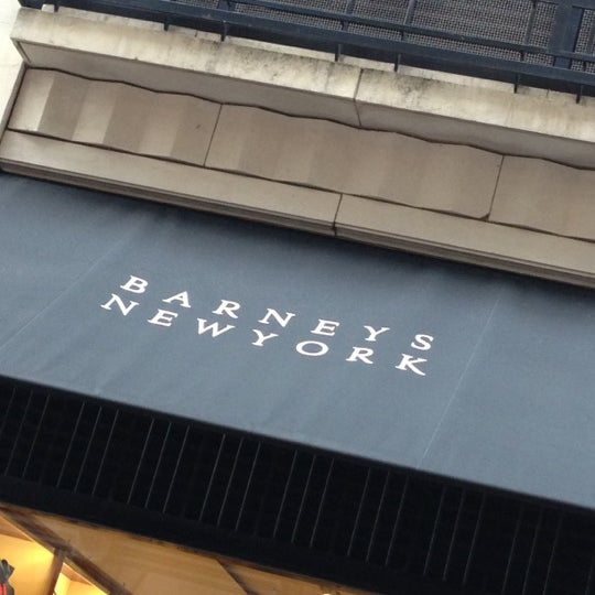 Photo taken at Barneys New York by Gaelle on 12/2/2012