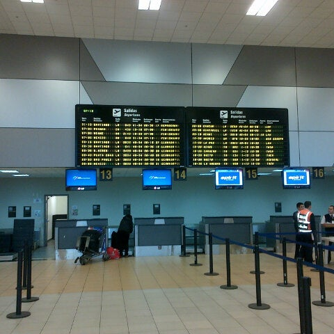 Photo taken at Jorge Chávez International Airport (LIM) by Bernardo T. on 6/9/2013