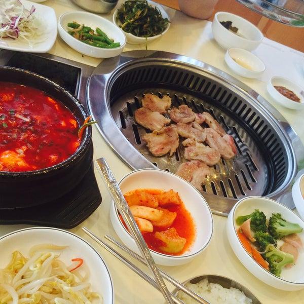 Photo taken at Daorae Korean BBQ Restaurant by Chyrie许願💞 on 4/1/2015