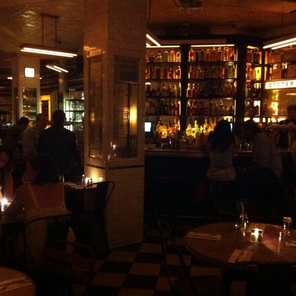 Photo taken at Schiller's Liquor Bar by Matteo on 7/21/2014