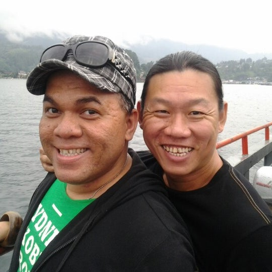 Photo taken at KMP Ferry Tao Toba Ajibata by Ajaqsa A. on 1/11/2013