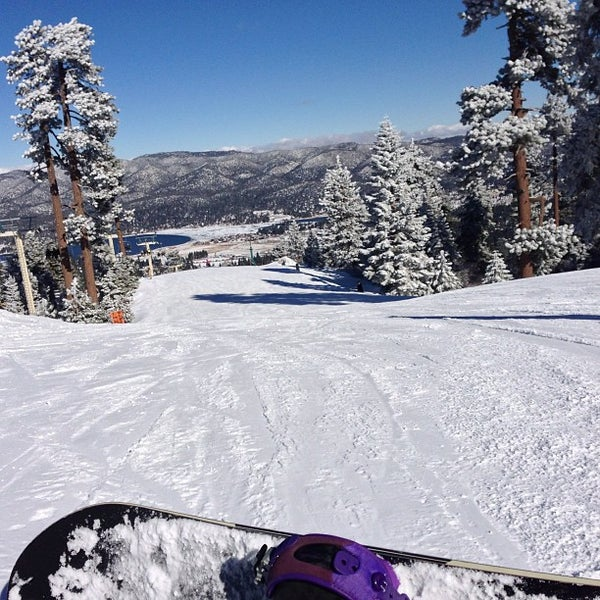 Snow summit mountain resort ski area in big bear lake for Cabins near snow summit