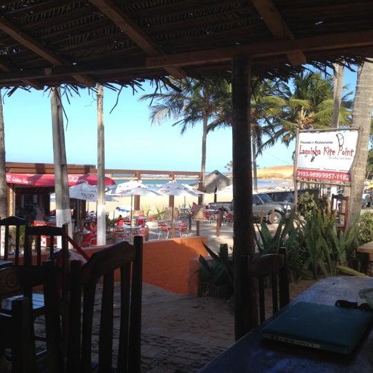 Photo taken at Lagoinha Kite Point by Leopoldo on 11/3/2012