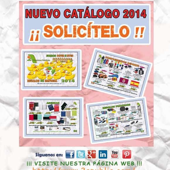 ¡¡ Primicia!! Nuevo Catálogo 2014. Link de descarga: http://www.2apublic.com/CATALOGO2A/2ACatalogo2014.pdf