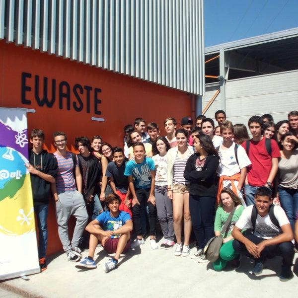 El alumnado del proyecto 'Vocaciones Científicas' de la ULL visita la empresa Ewaste