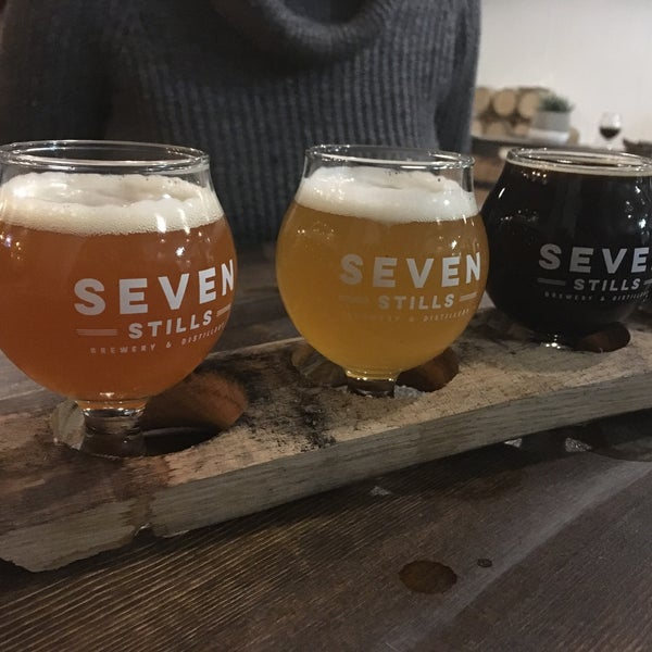 Photo taken at Seven Stills Brewery & Distillery by Max E. on 8/5/2016