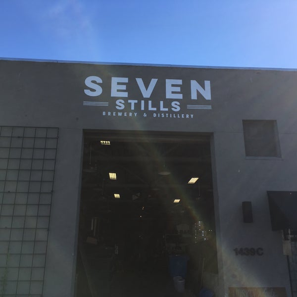 Photo taken at Seven Stills Brewery & Distillery by Max E. on 6/22/2017