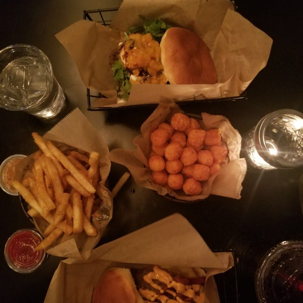 If you like burrata, order the Better than Caesar burger and for side Sweet Potato Tots with spicy maple aioli , is divine. Make sure to book a table because the place is so, so small...