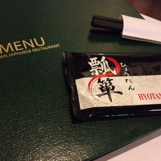 Photo taken at Hyotan Japanese Restaurant by Jessy TISSUE QUEEN on 10/17/2012