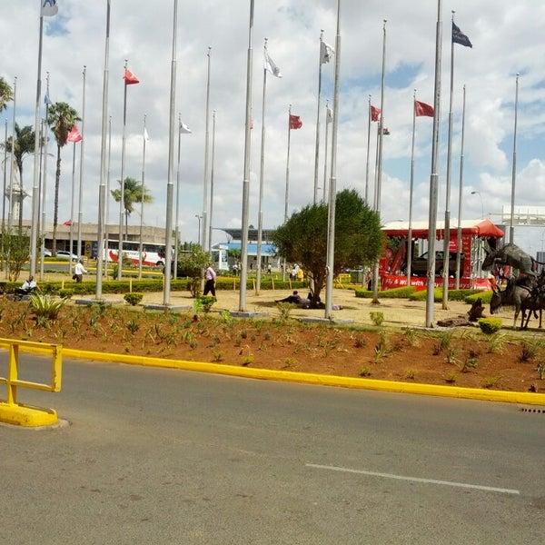 Photo taken at Jomo Kenyatta International Airport (NBO) by Dmitry N. on 2/27/2013