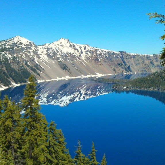 Photo taken at Crater Lake National Park by Dustin J. on 5/31/2013
