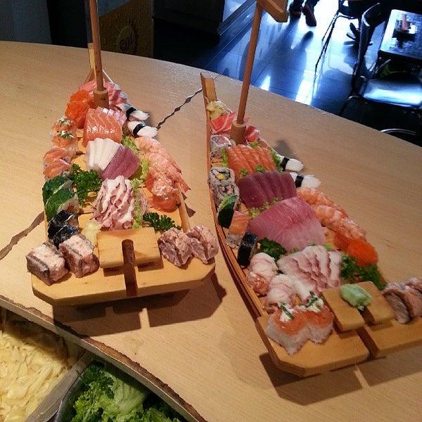 Photo taken at Joy Sushi by Samuel A. on 6/29/2013
