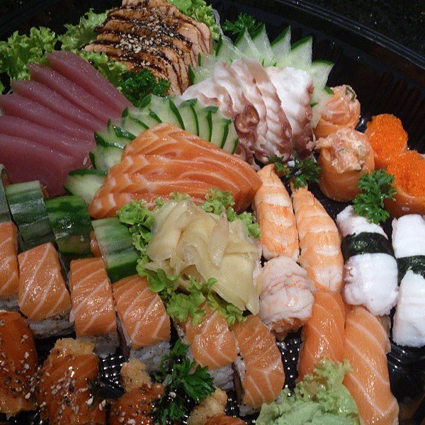 Photo taken at Joy Sushi by Samuel A. on 5/29/2013