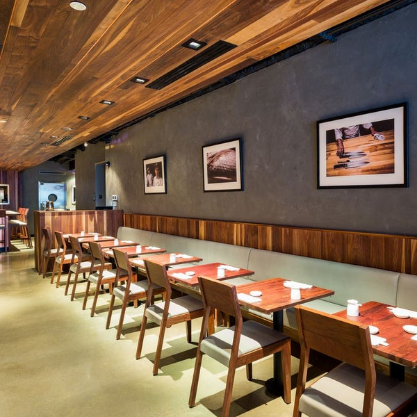 $23, $33, or $45 menus start with edamame and include courses like tuna sashimi, albacore tuna, and a toro hand-roll. Eater's senior critic Robert Sietsema had a promising lunch there opening week.