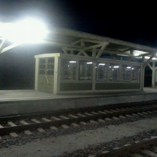 Photo taken at Tartu Raudteejaam by Holger K. on 10/16/2012
