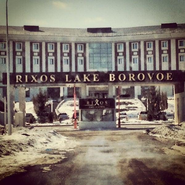 3/22/2013 tarihinde Alibekziyaretçi tarafından Rixos Borovoe'de çekilen fotoğraf