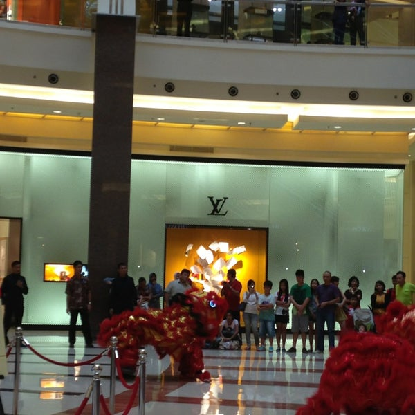 Photo taken at Pacific Place by Yani A. on 2/10/2013