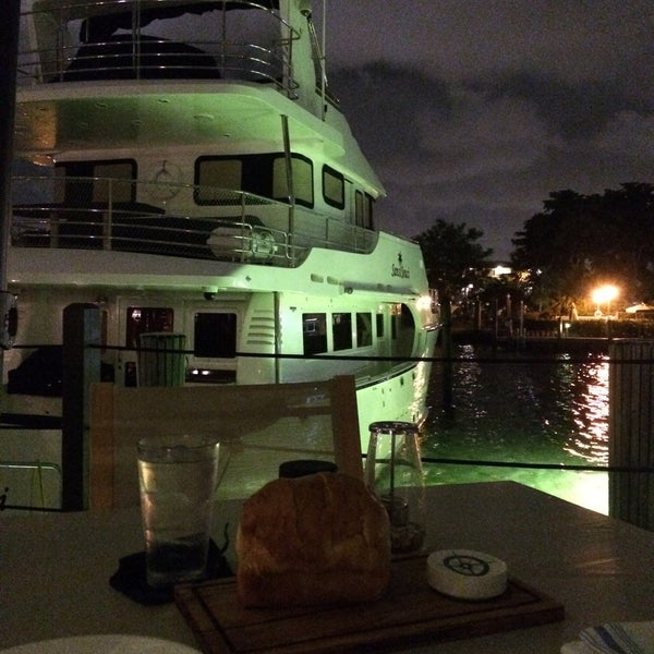 Photo taken at Bimini Boatyard Bar & Grill by Jerome on 10/25/2015