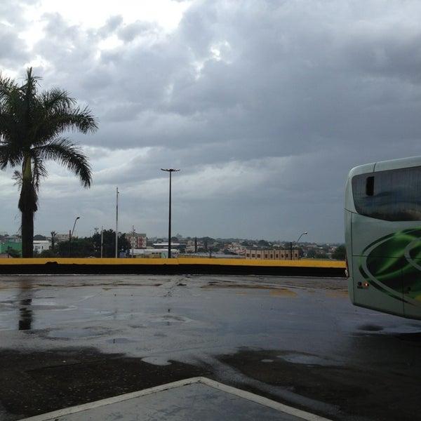 Photo taken at Terminal Rodoviário José Garcia Villar by Jansen M. on 5/28/2013