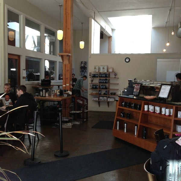 Photo taken at Victrola Cafe and Roastery by Nicole R. on 3/30/2013