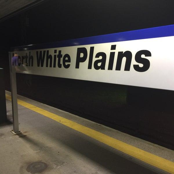 Photo taken at Metro North - North White Plains Station by Londowl on 10/4/2016
