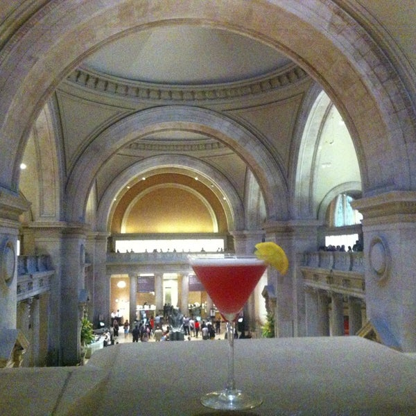 The great hall balcony bar at the metropolitan museum of for The balcony restaurant