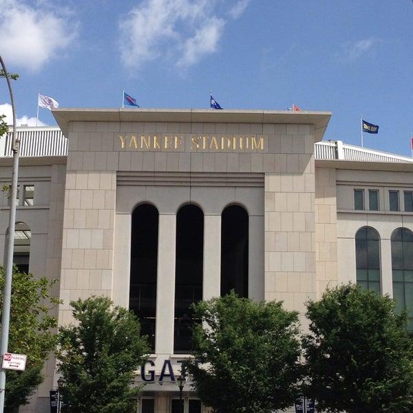 Photo taken at Yankee Stadium by Lauren R. on 7/14/2013