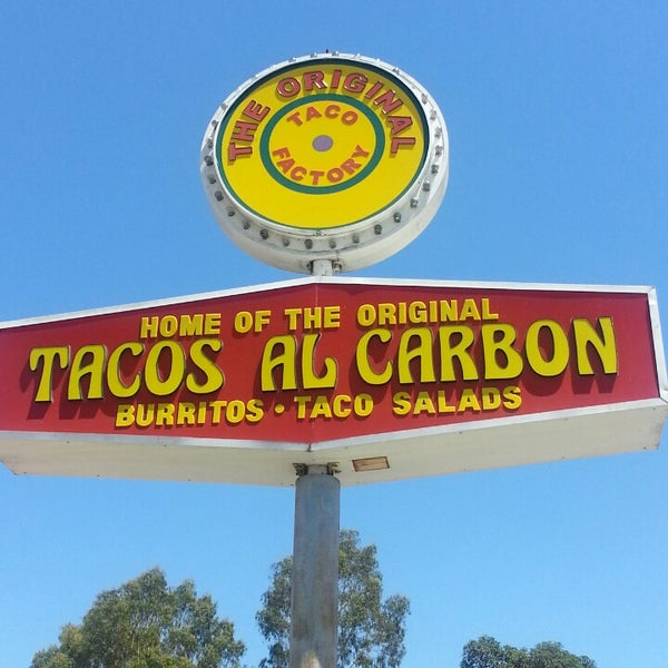 Photo taken at The Original Taco Factory by Mike on 8/16/2014
