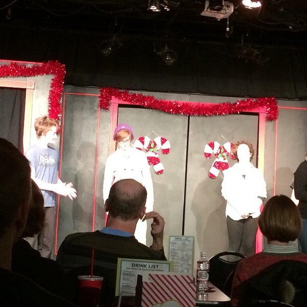 Photo taken at Brave New Workshop Comedy Theatre by KImberly L. on 12/7/2014