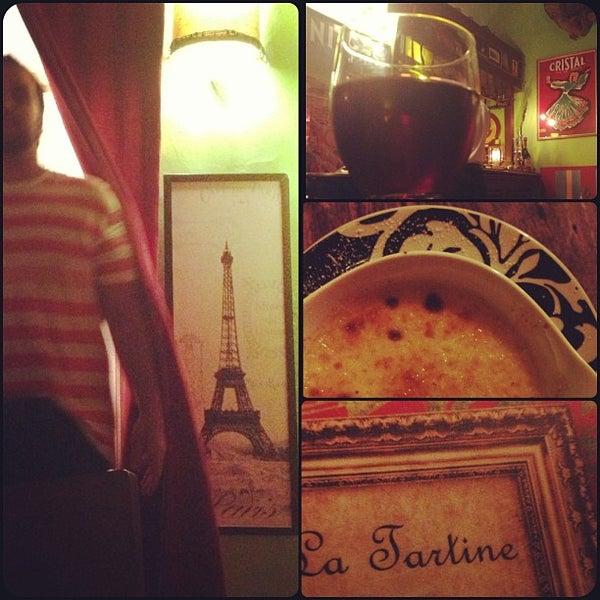 Foto tirada no(a) La Tartine Bistrot por Alexandre g. em 1/26/2013
